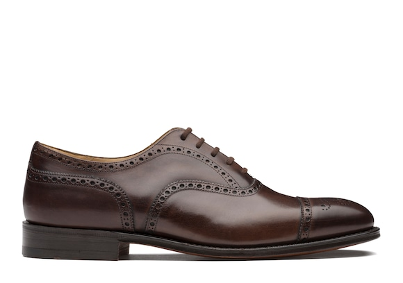 Church's  Nevada Leather Oxford Brogue Ebony
