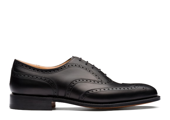 Church's true Oxford Brogue in Pelle di Vitello Nero