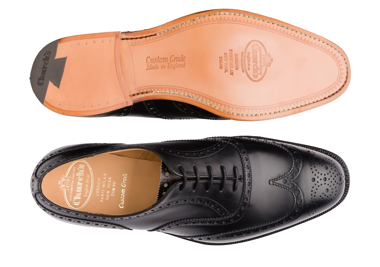 Chetwynd Church's Calf Leather Oxford Brogue Black