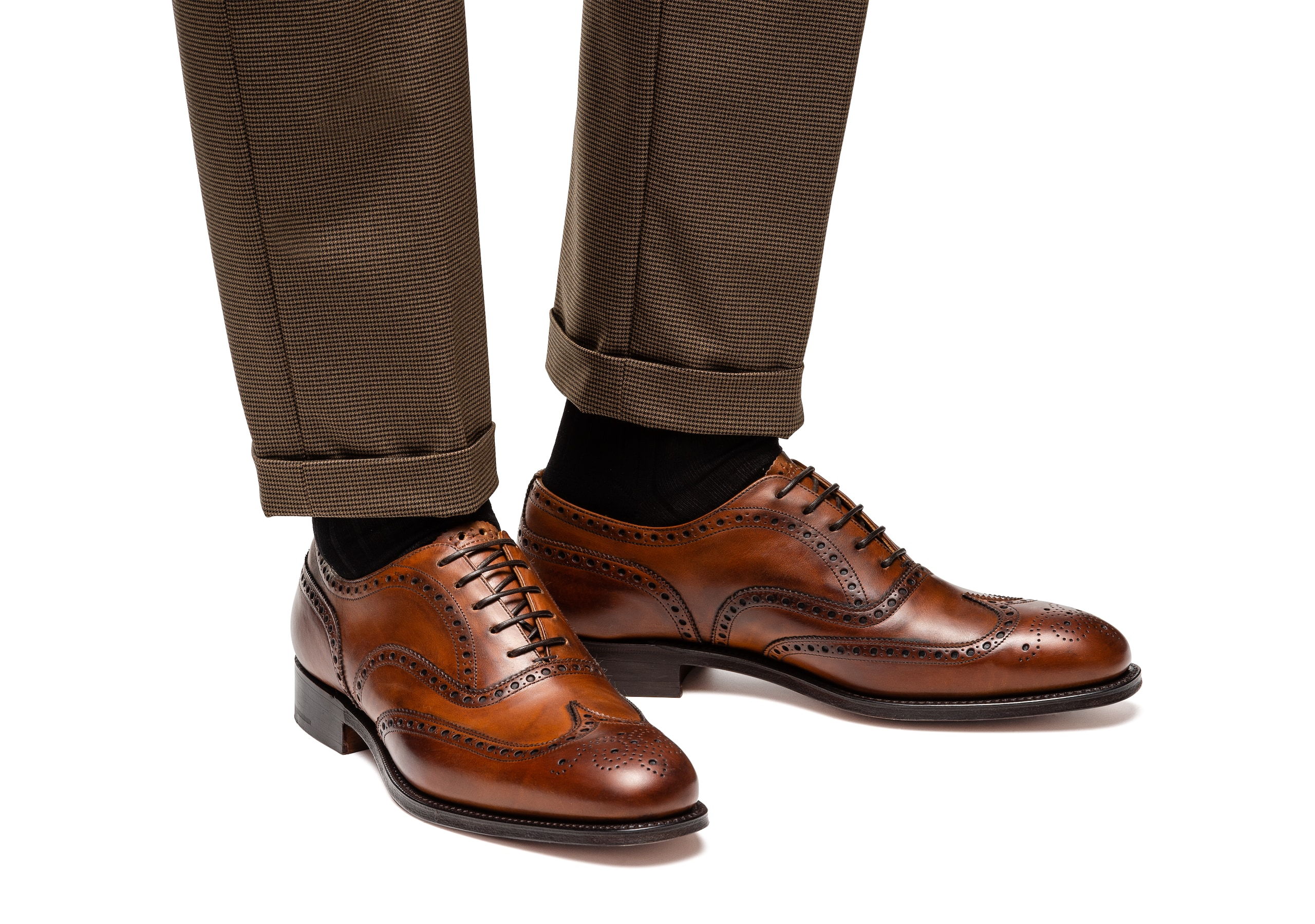 Chetwynd Church's Nevada Leather Oxford Brogue Brown