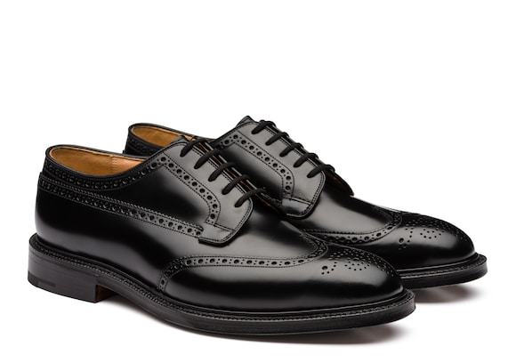 Church's  Polished Binder Derby Brogue Black