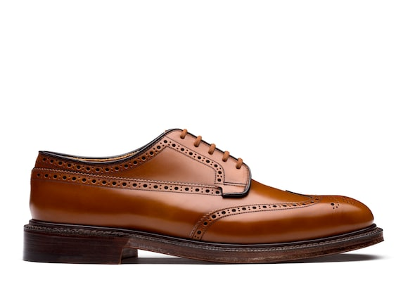 Church's Grafton 173 Polished Binder Derby Brogue Sandalwood