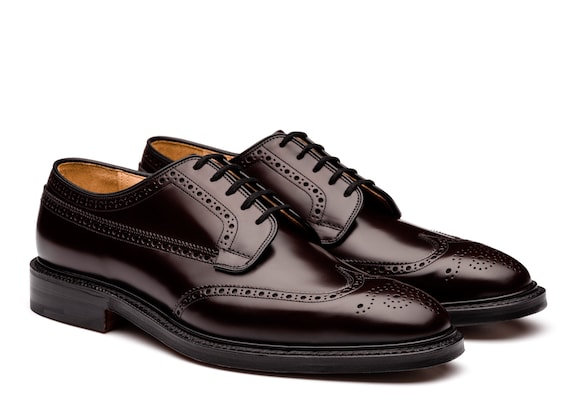 Church's Grafton Polished Binder Derby Brogue Burgundy