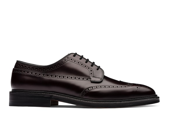 Church's Grafton 173 Polished Binder Derby Brogue Burgundy