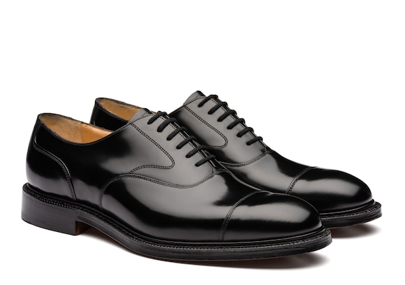 Church's Lancaster 173 Oxford in Pelle di Vitello Spazzolato Nero