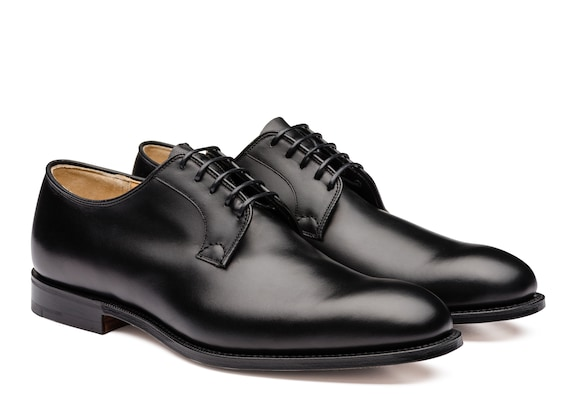 Church's Stratton Calf Leather Derby Black