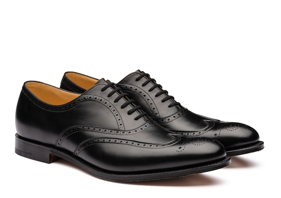 Church's true Calf Leather Oxford Brogue Black