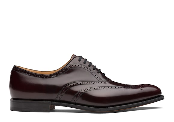 Church's Berlin Polished Binder Oxford Brogue Burgundy