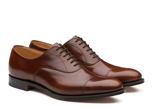 Church's true Polished Fumè Oxford Tabac