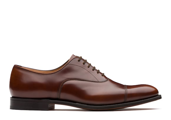 Church's Dubai Polished Fumè Oxford Tabac