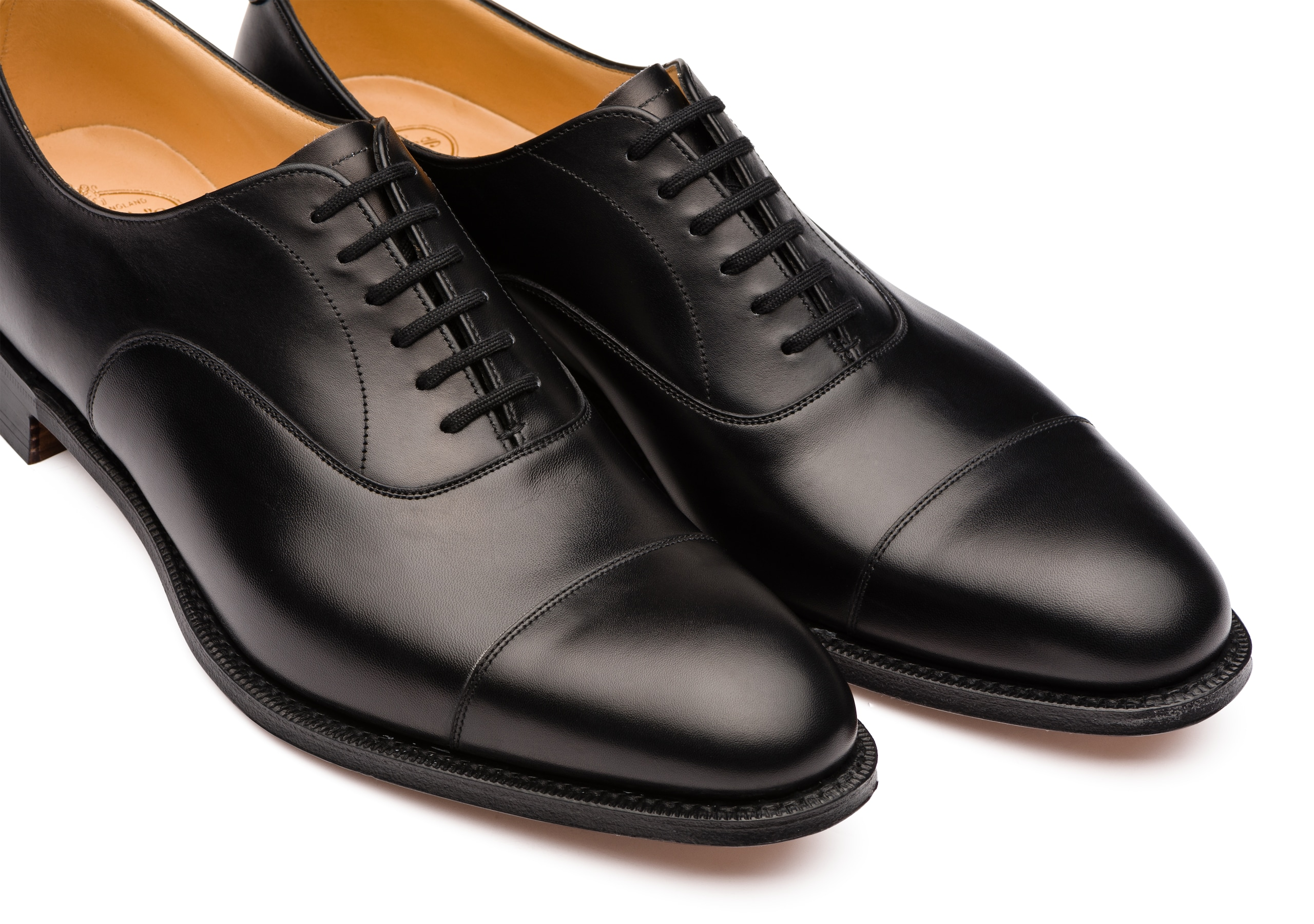 Dubai Church's Calf Leather Oxford Black
