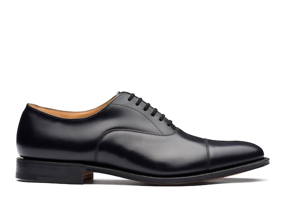 Church's true Oxford in Pelle di Vitello Spazzolato Blu