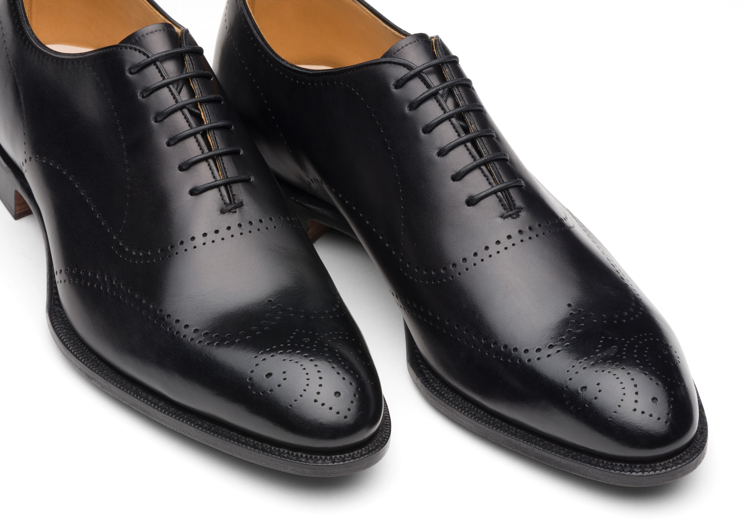 Dickens Church's Masai Leather Oxford Brogue Black