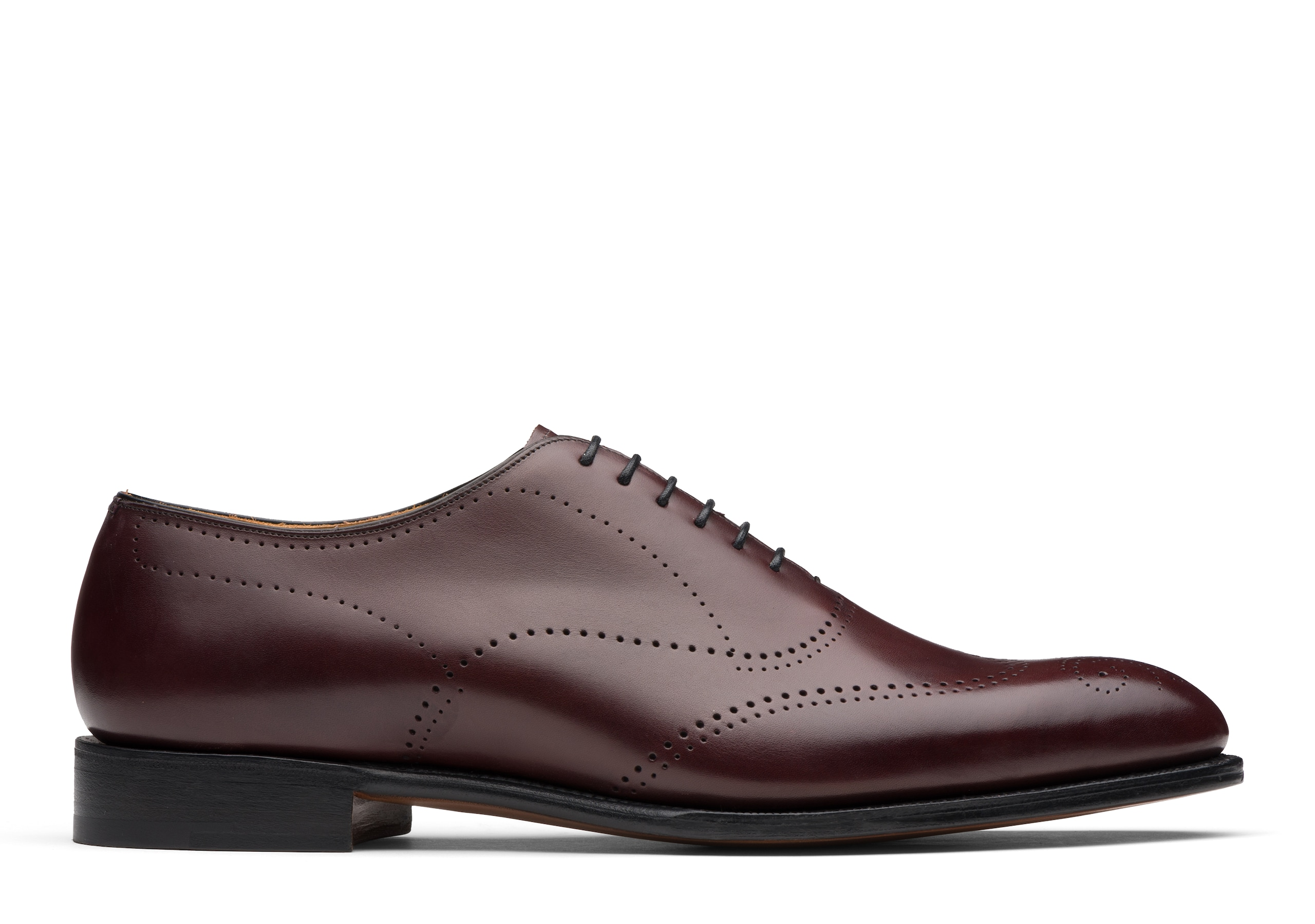 Dickens Church's Doha Leather Oxford Brogue Burgundy