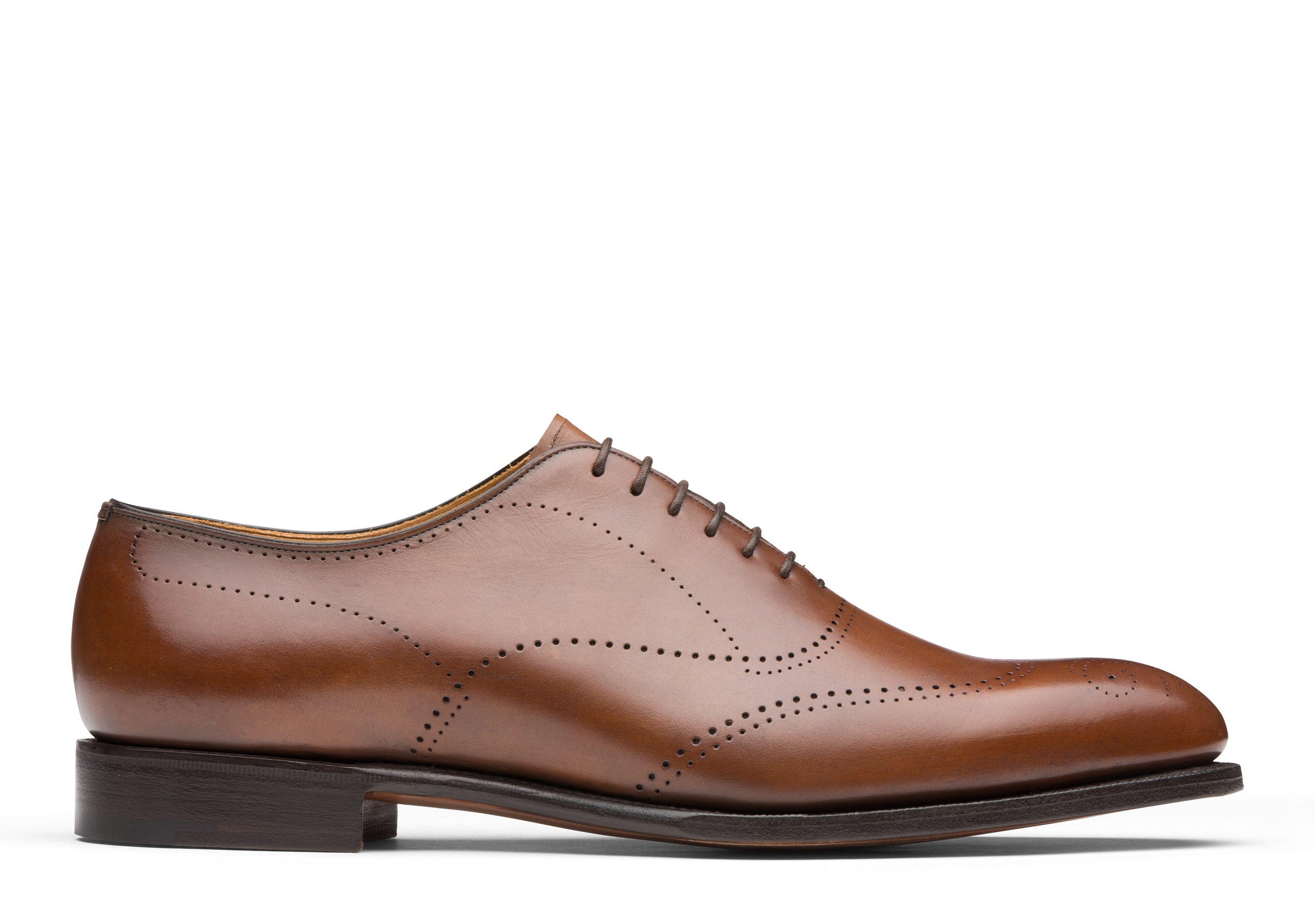 Dickens Church's Masai Leather Oxford Brogue Neutral