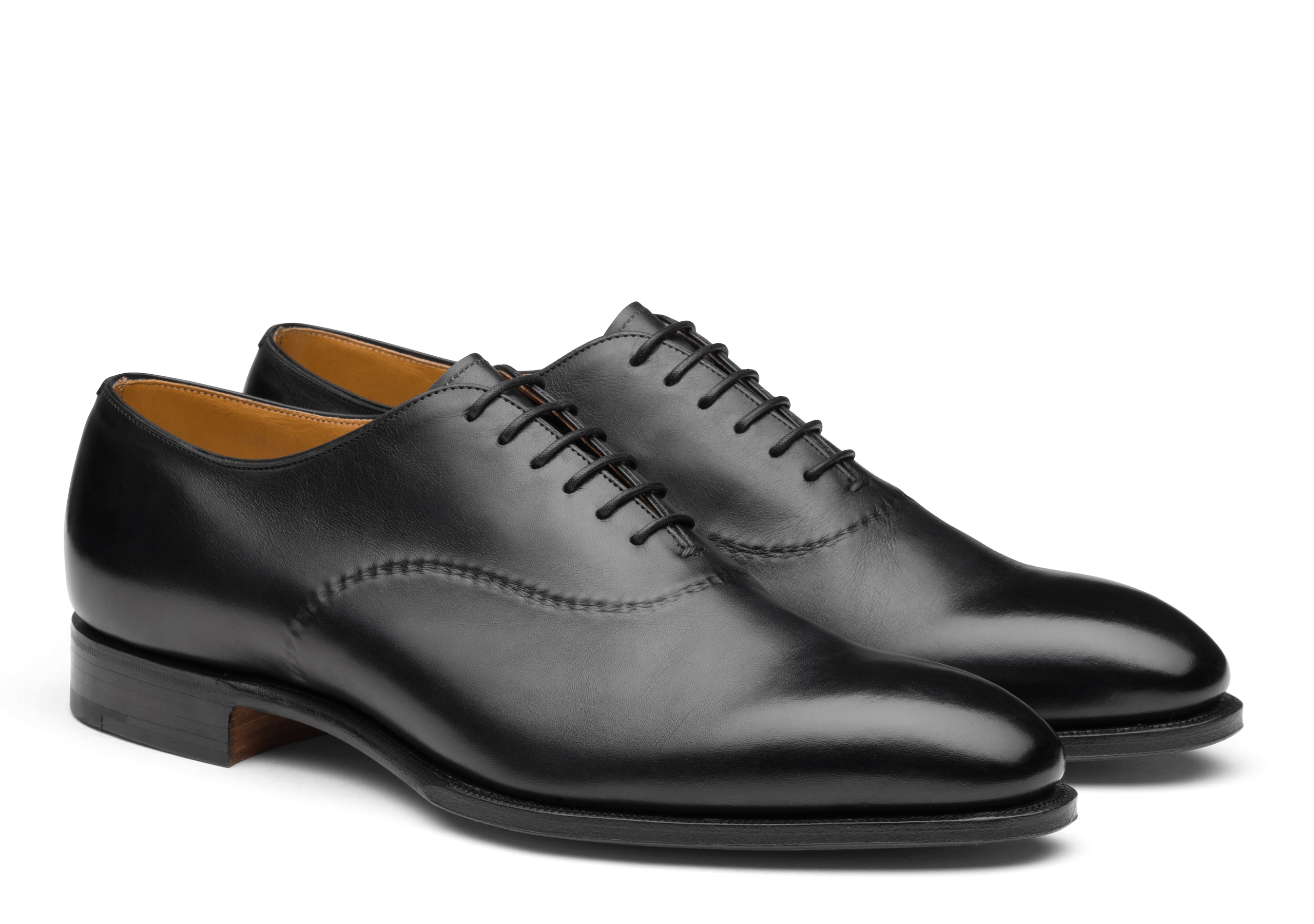Eliot Church's Masai Leather Oxford Black