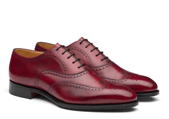 Church's Carrol Oxford Brogue in Pelle Doha Mattone