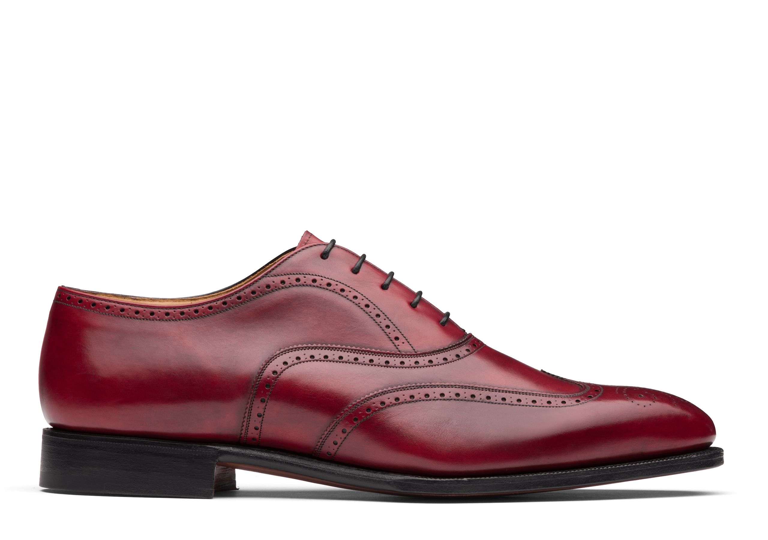 Carrol Church's Doha Leather Oxford Brogue Light tan Pink