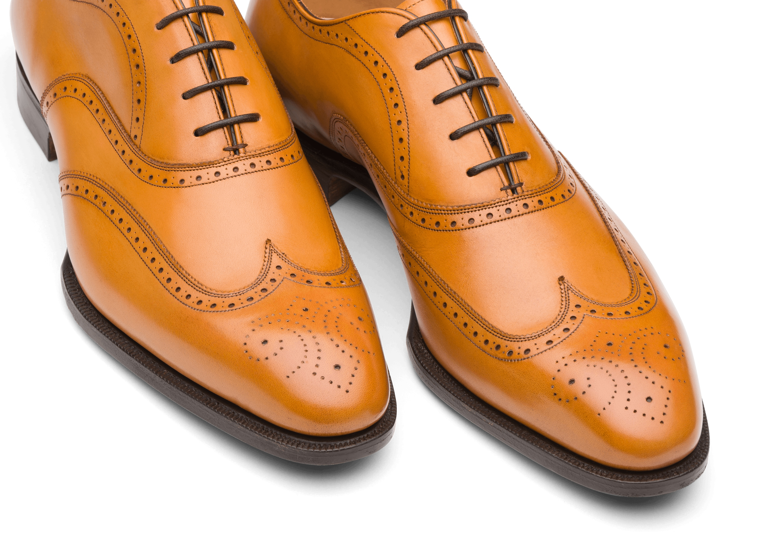 Carrol Church's Doha Leather Oxford Brogue Light tan Brown
