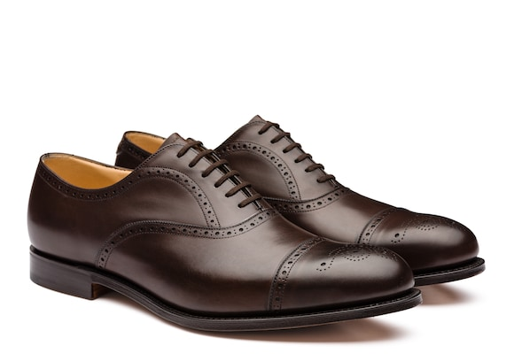 Church's Toronto Nevada Leather Oxford Brogue Ebony