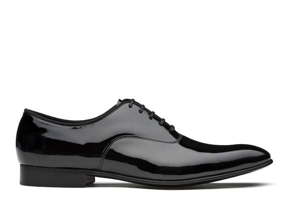 Church's Whaley Oxford Brogue in Vernice Nero