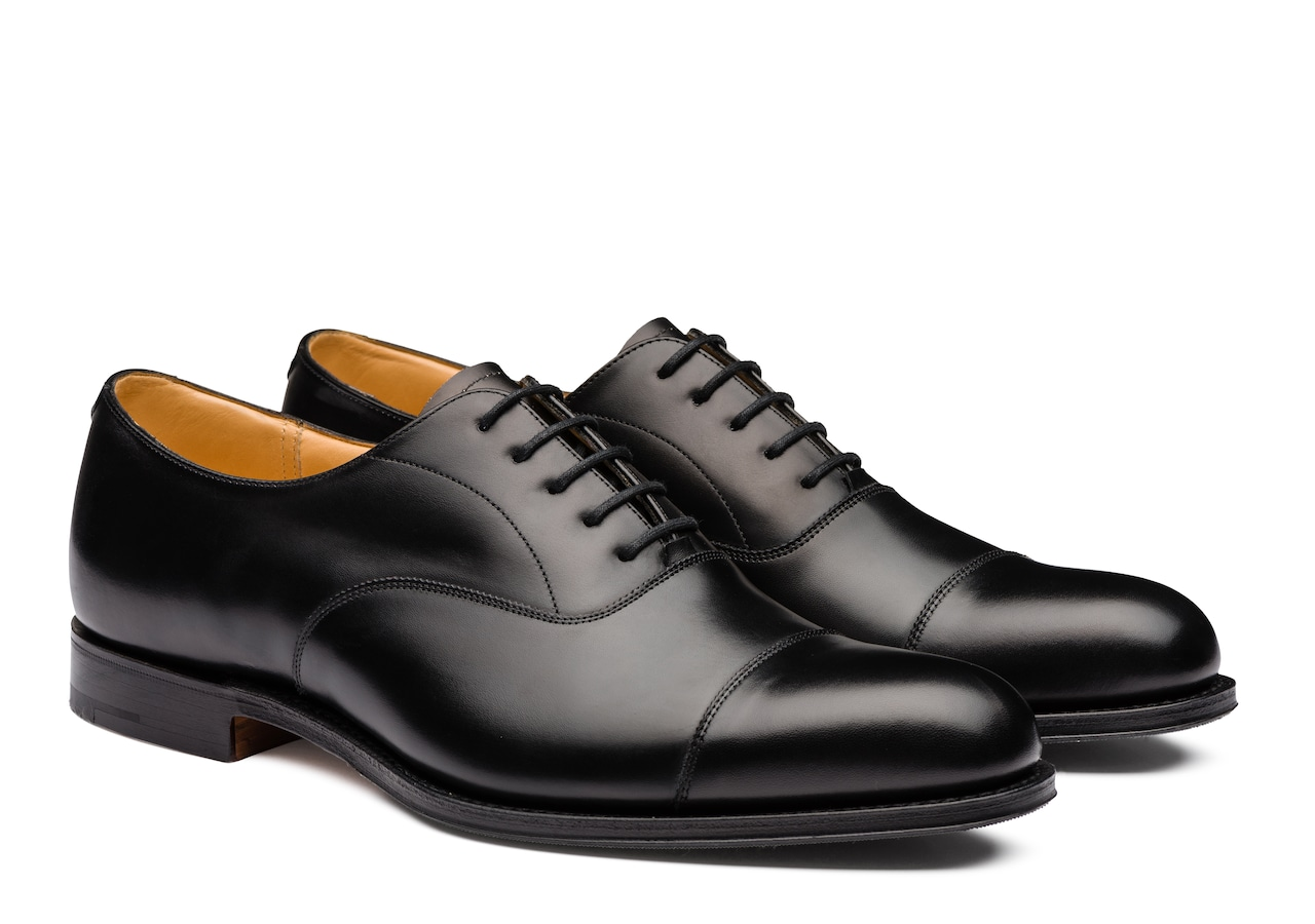 Westerham Church's Calf Leather Oxford Black