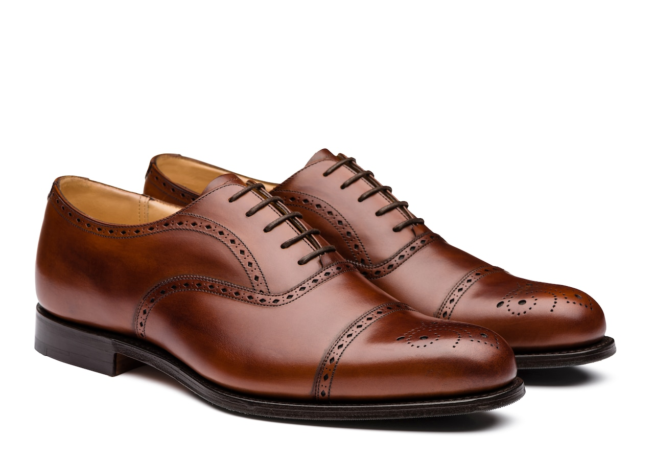 Weymouth Church's Nevada Leather Oxford Brogue Brown
