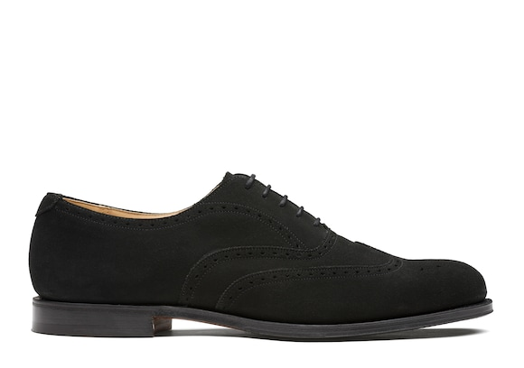 Church's true Oxford Brogue in Pelle Superbuck Nero