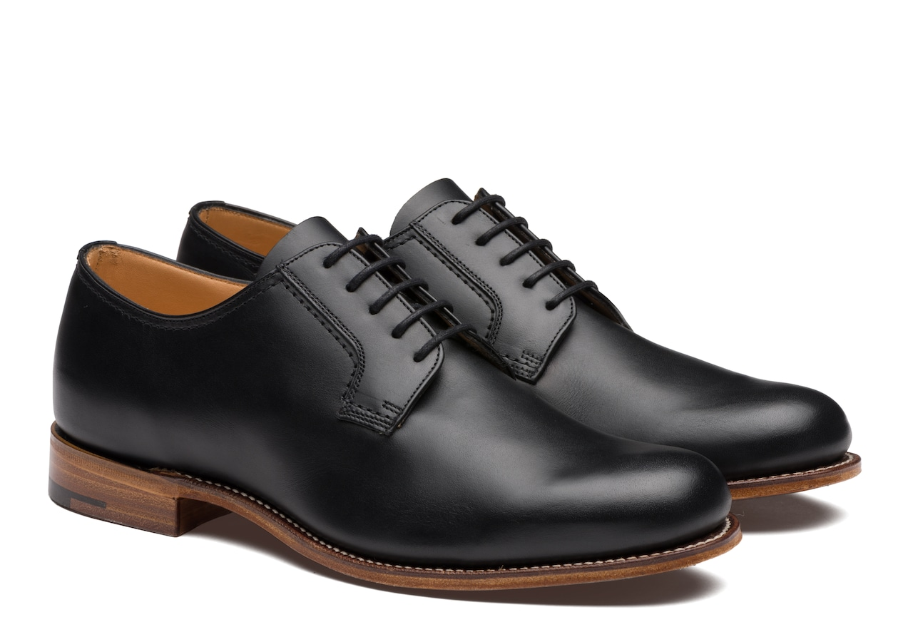 Barkson Church's Calf Leather Derby Black