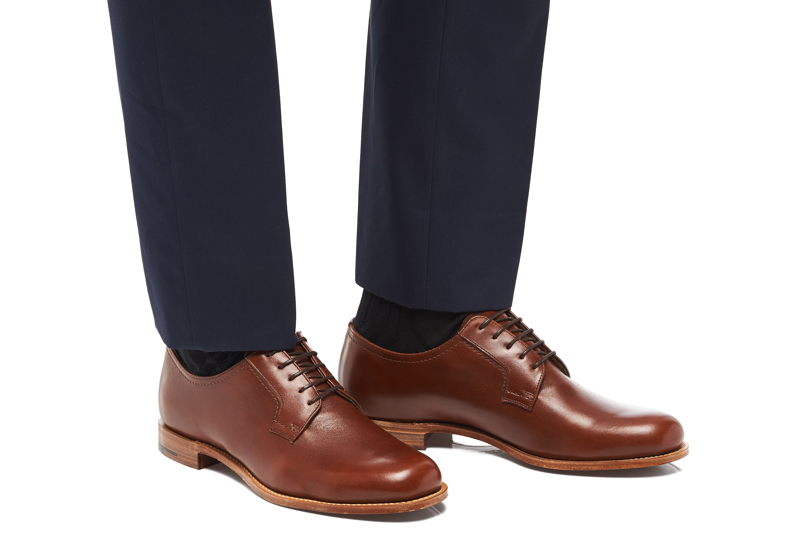Barkson Church's Calf Leather Derby Brown