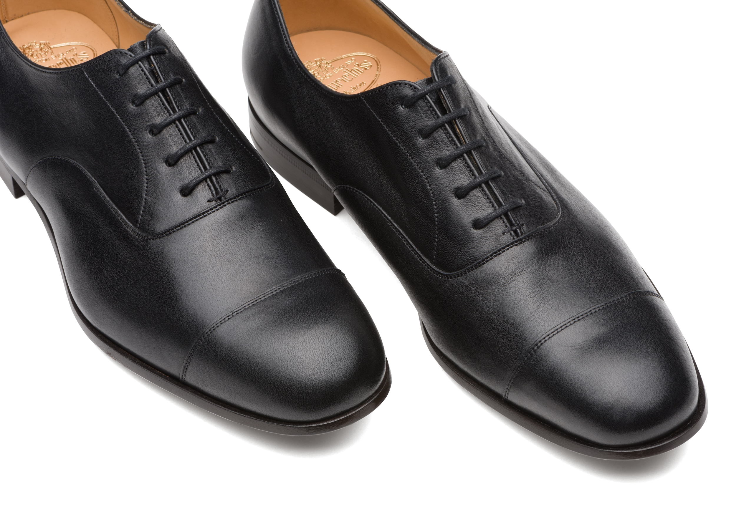 Dingley Church's Vintage Calf Leather Oxford Black