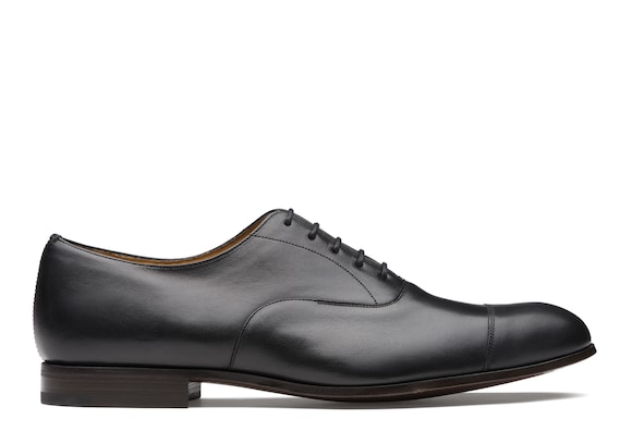 Church's true Vintage Calf Leather Oxford Black