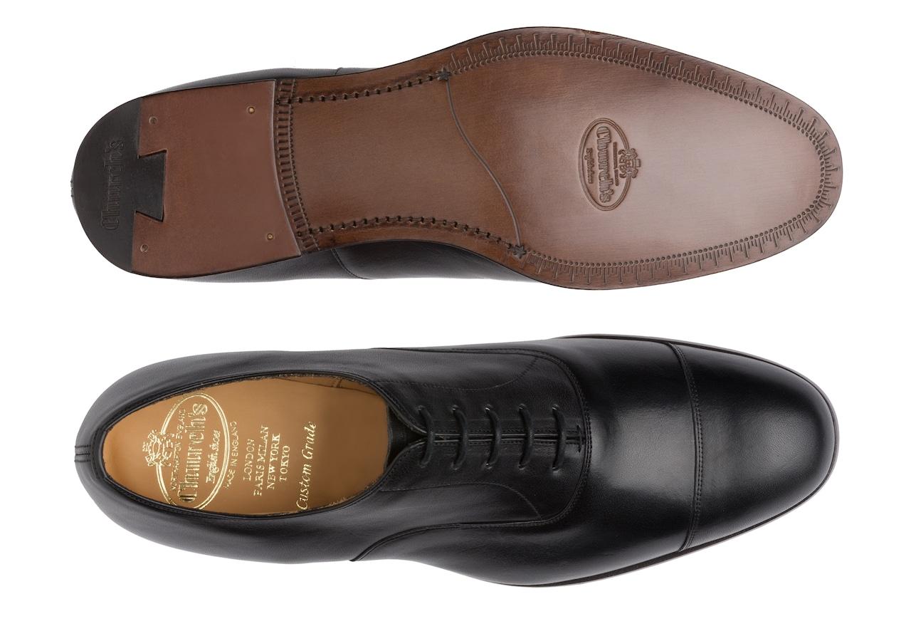 Dingley Church's Vintage Calf Leather Oxford Black