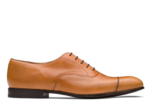Church's Dingley Vintage Calf Leather Oxford Beige