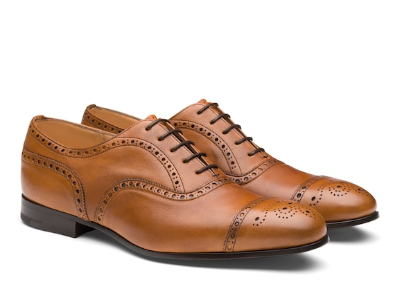 Church's true Vintage Calf Leather Oxford Beige