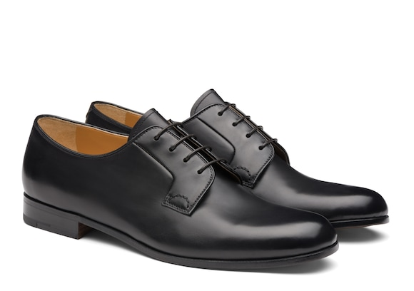 Church's true Calf Leather Derby Black Black