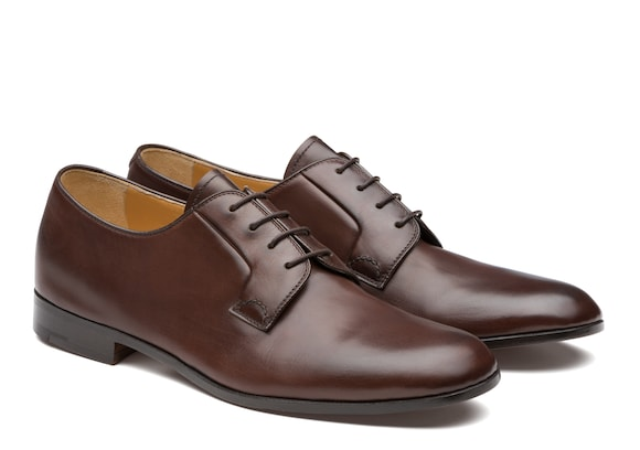 Church's true Derby en Cuir de Veau Noir Marron