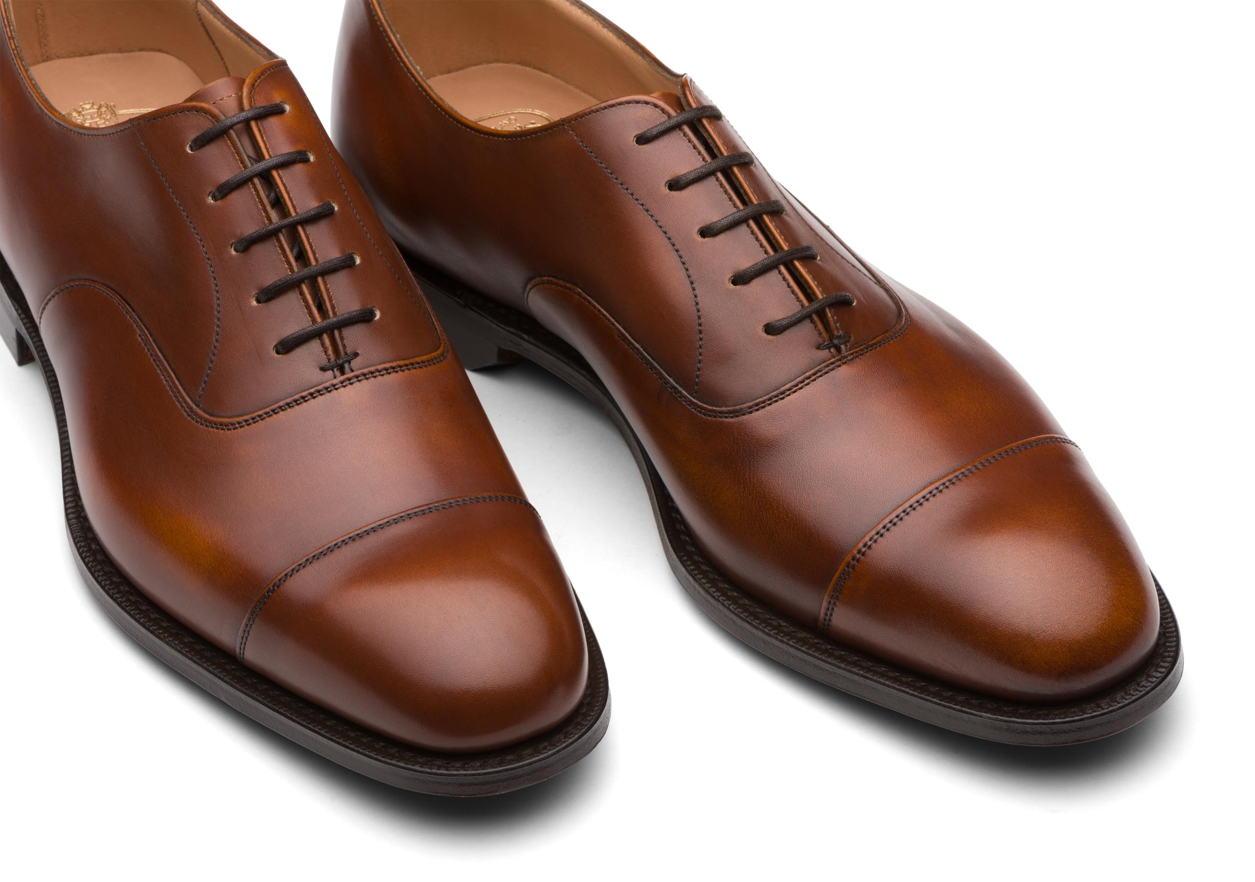 Consul^ Church's Superior Calf Leather Oxford Brown