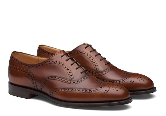 Church's Chetwynd^ Superior Calf Leather Oxford Brogue Walnut