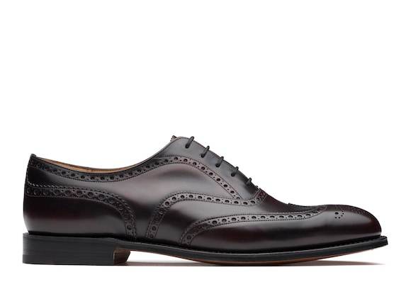 Church's Chetwynd^ Superior Calf Leather Oxford Brogue Burgundy