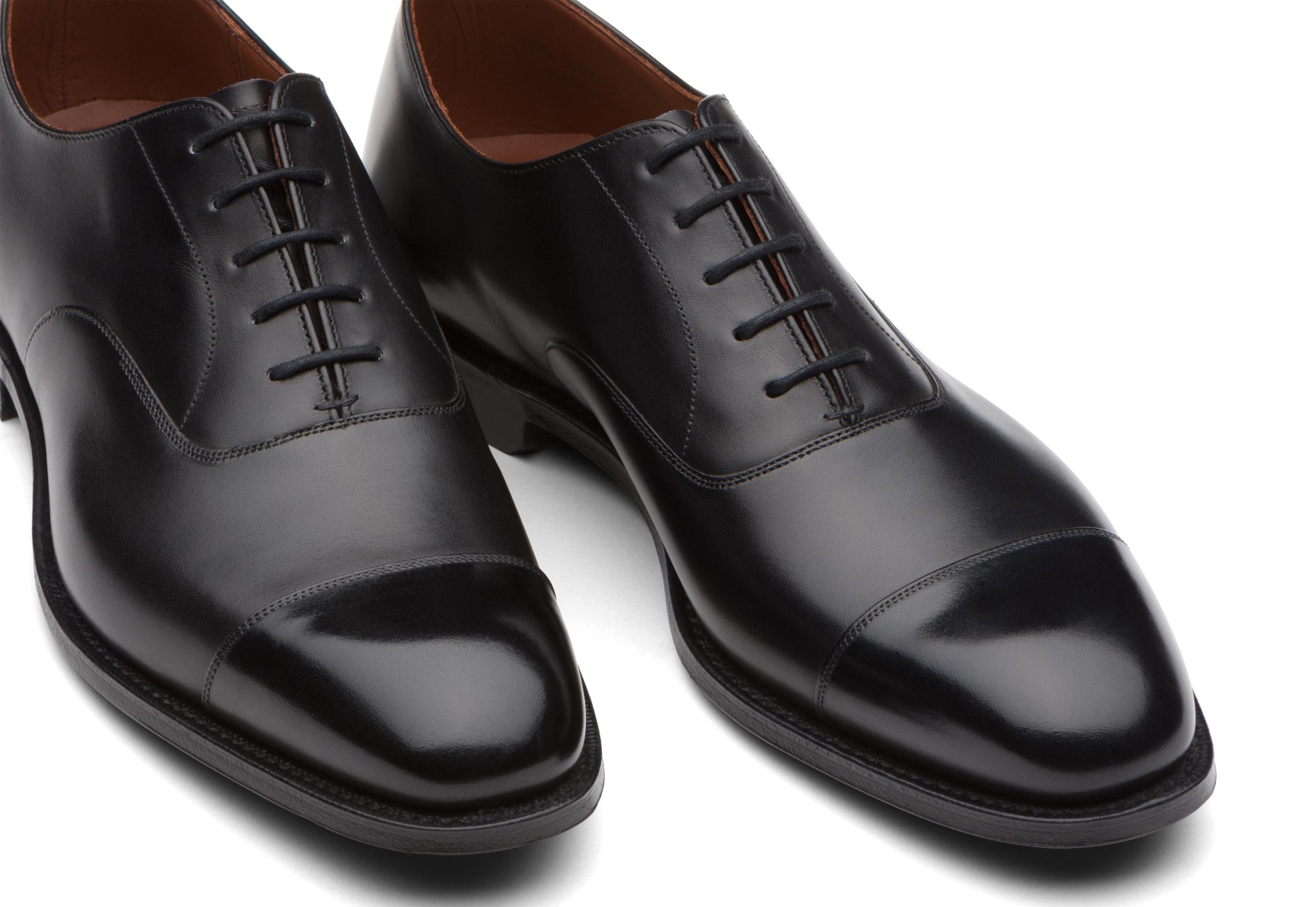 Consul 1945 Church's Limited Edition Calf Leather Oxford Black