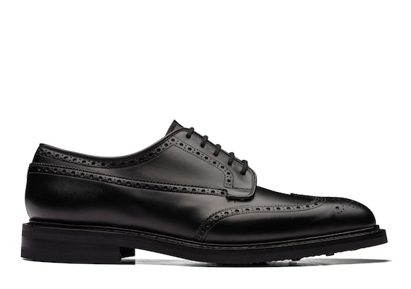Church's Grafton r 173 Calf Leather Derby Brogue Black