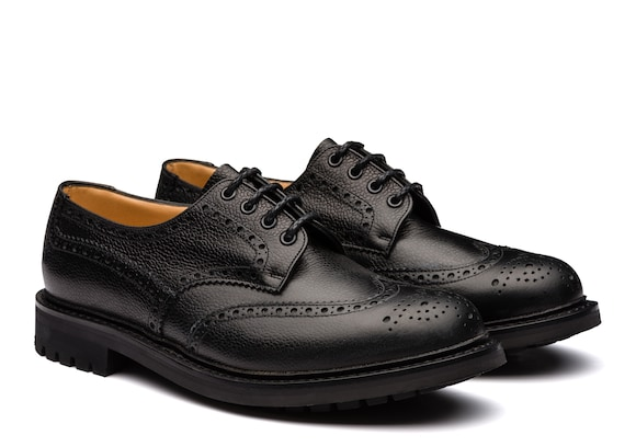 Church's Mc pherson Highland Grain Derby Brogue Black