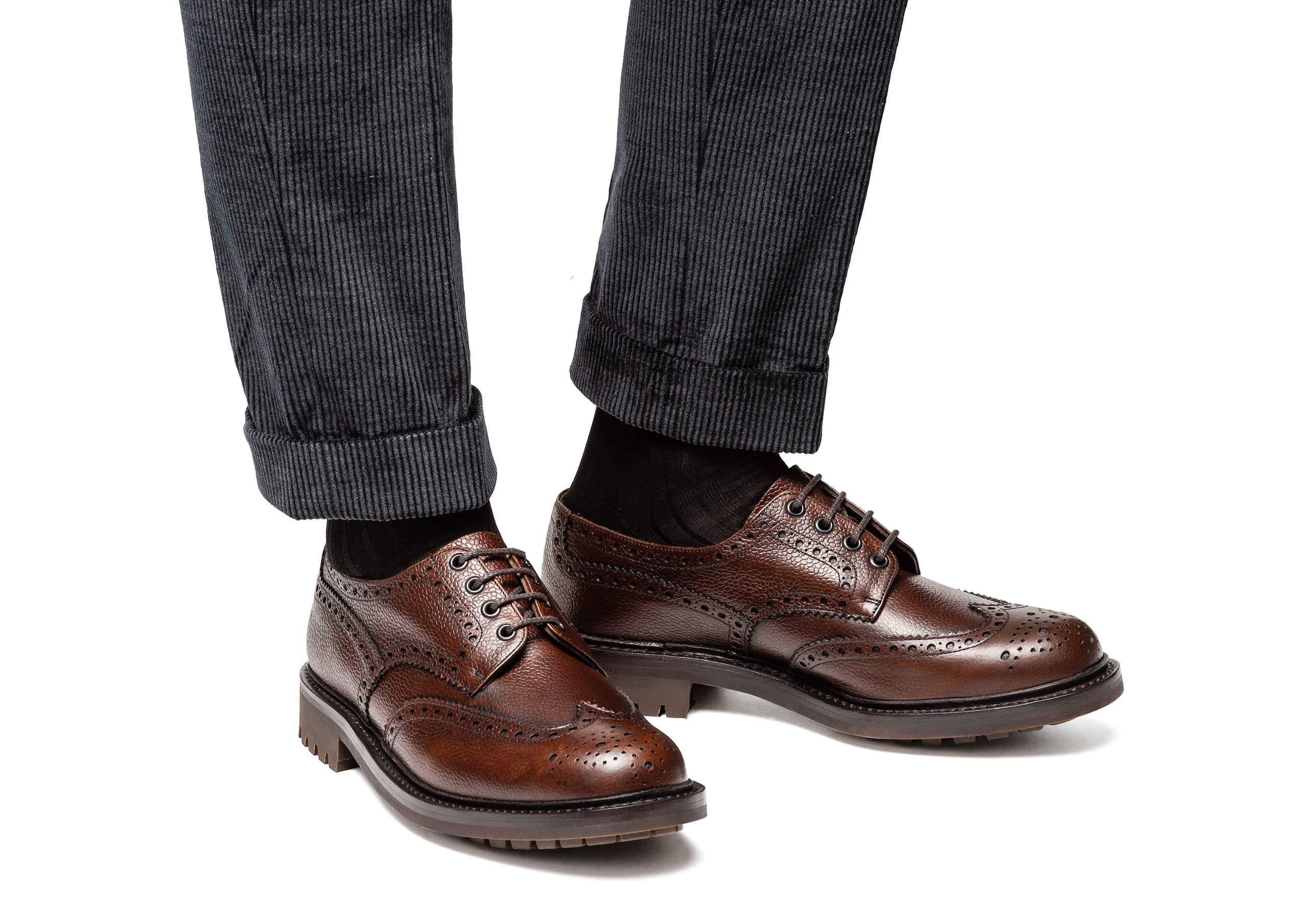 Mcpherson Church's Highland Grain Derby Brogue Brown