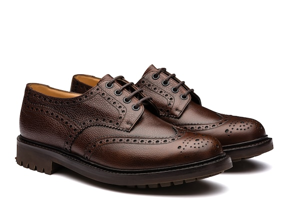 Church's Mc pherson Highland Grain Derby Brogue Ebony