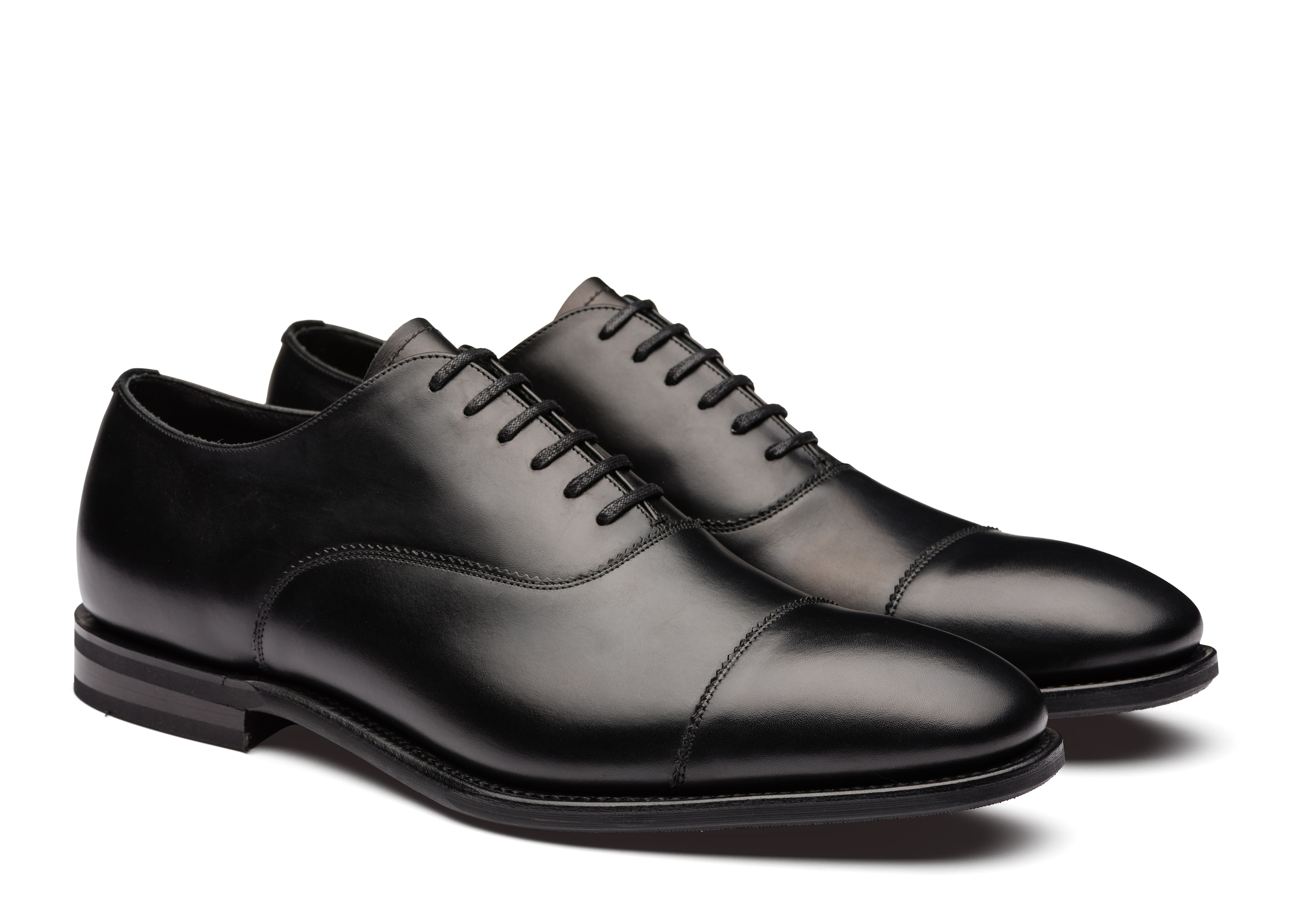 Pamington Church's Calf Leather Oxford Black