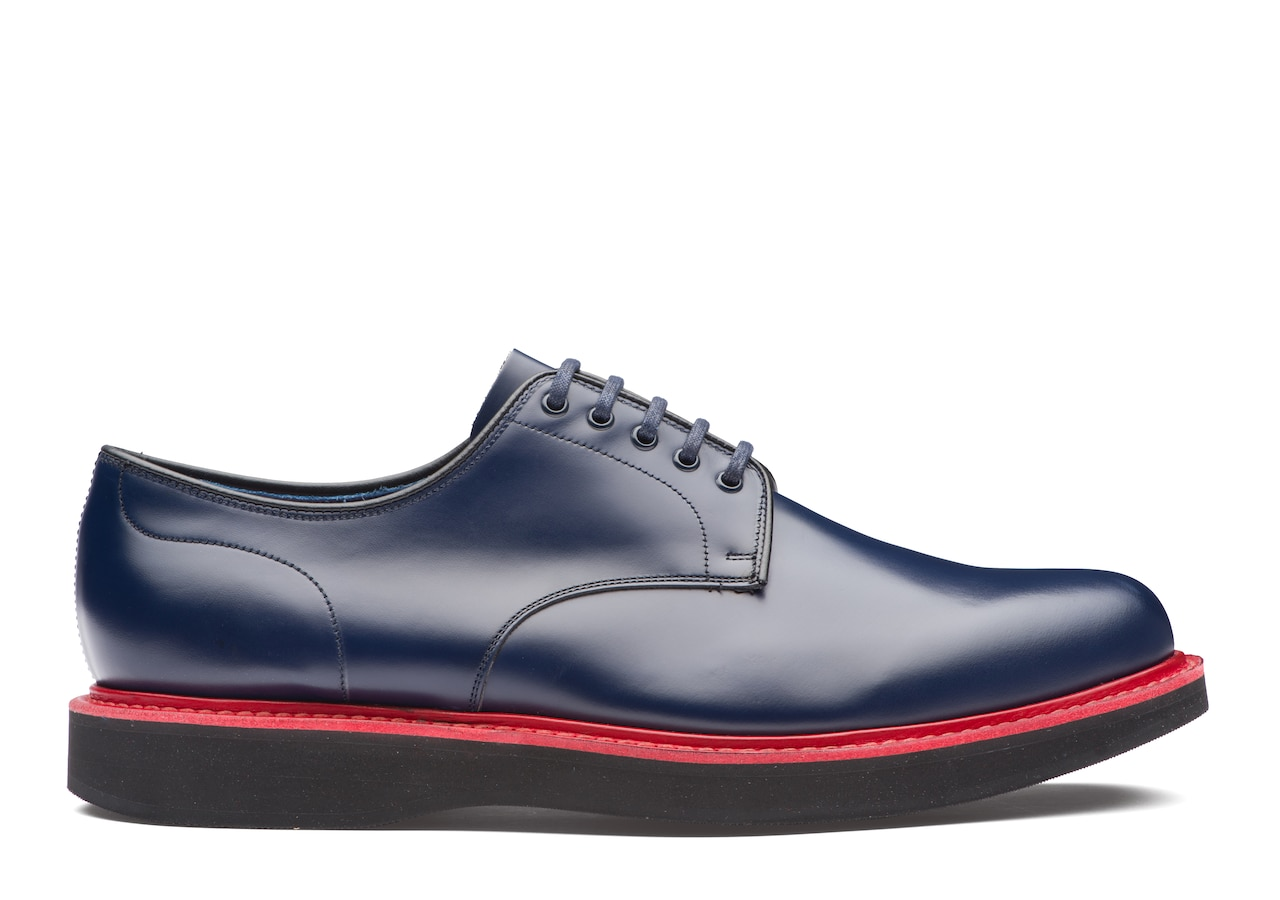 Leyton 5 Church's Calf Leather Derby Blue