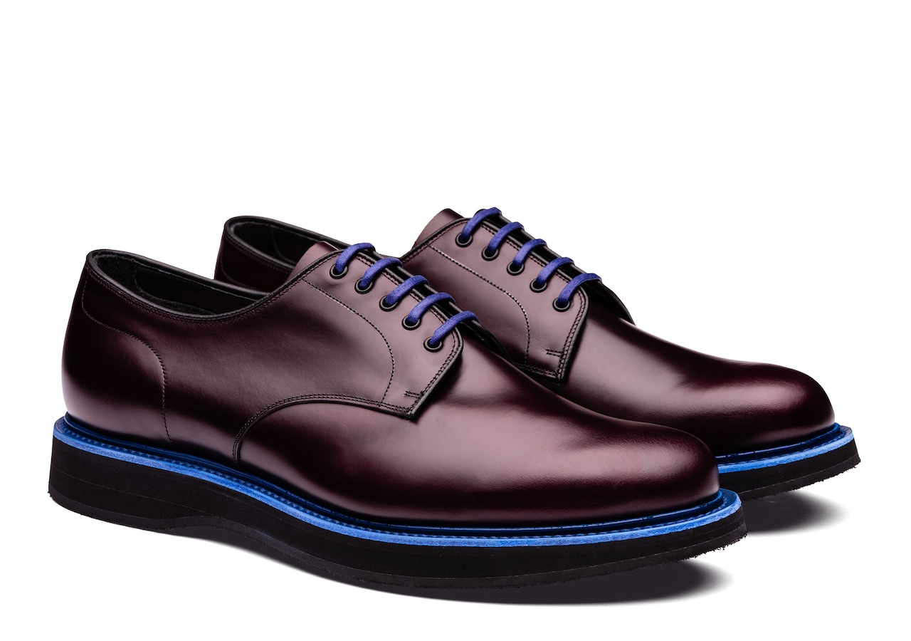 Leyton 5 Church's Calf Leather Derby Burgundy