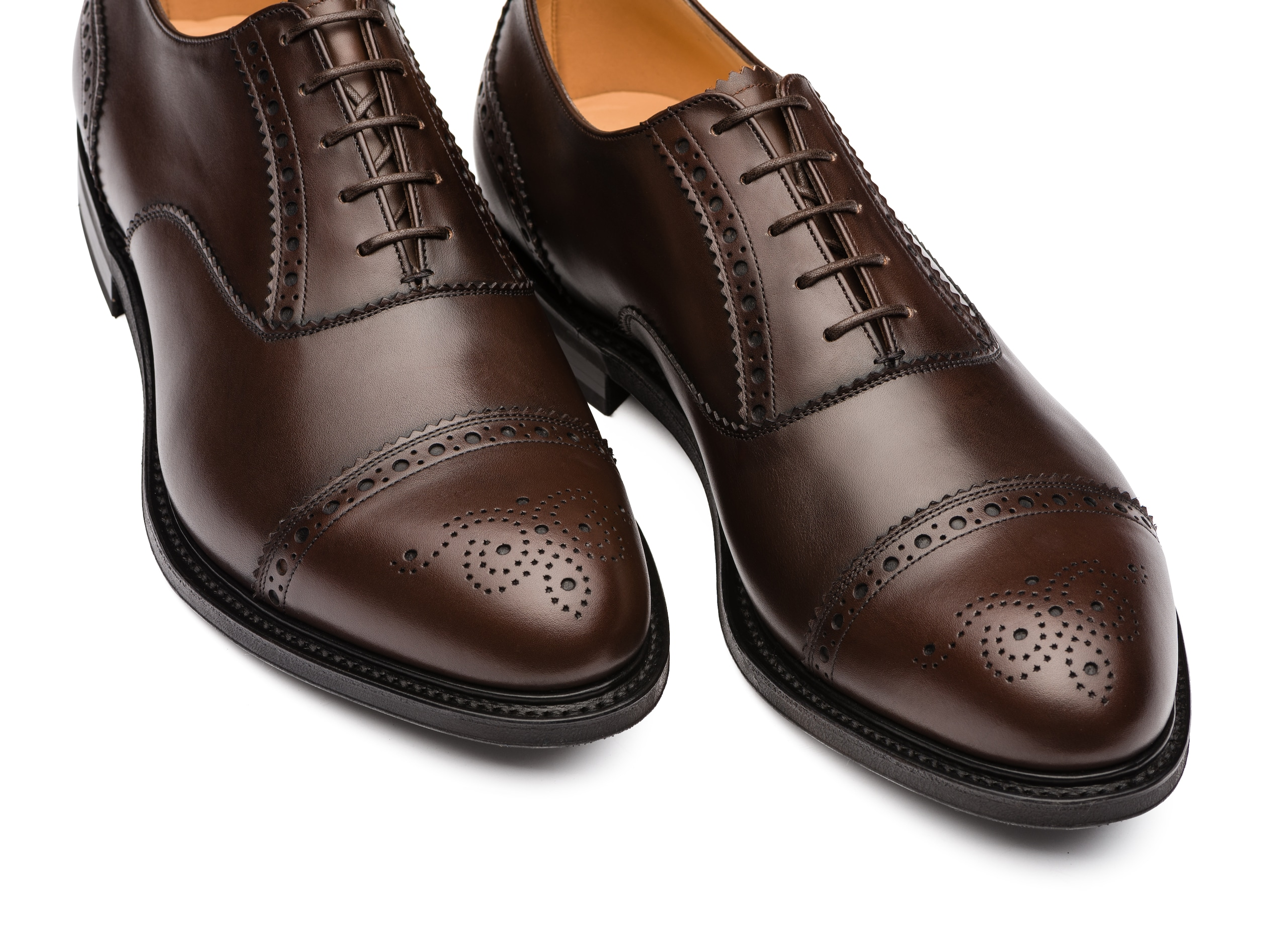 Waltham Church's Richelieu Oxford en Cuir Nevada Marron
