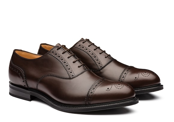 Church's true Oxford Brogue in Pelle Nevada Marrone
